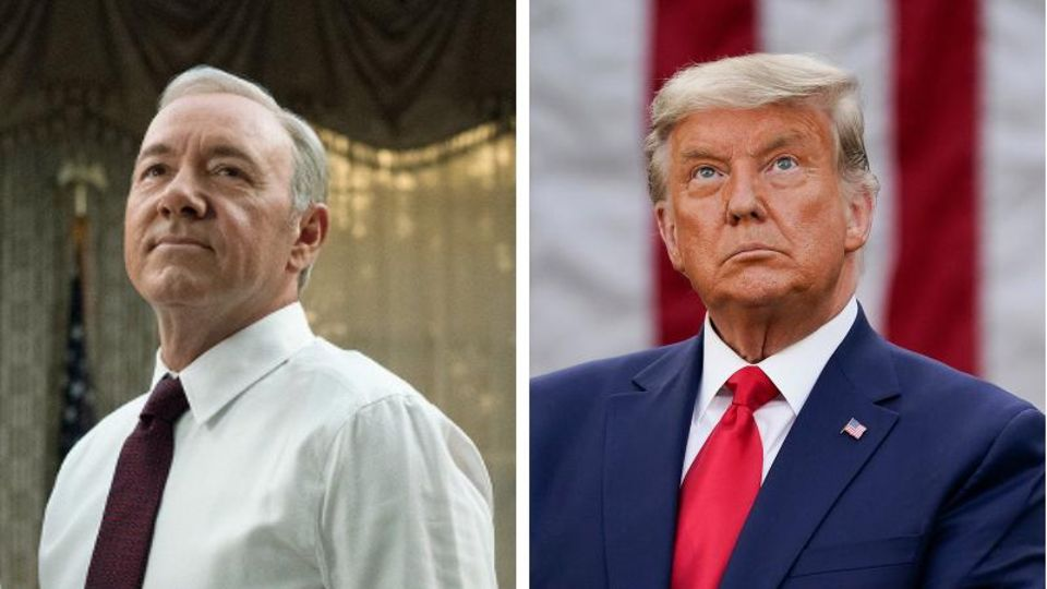 Frank Underwood und Donald Trump