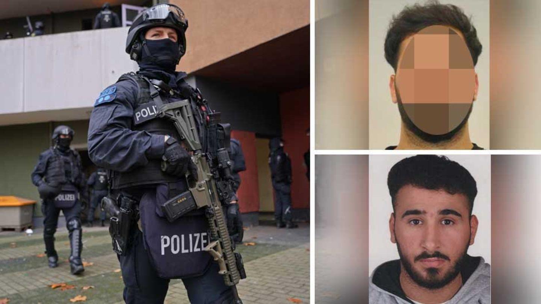 Polizeieinsatz in Berlin; zwei Verdächtige am Einbruch in das Grüne Gewölbe Dresden