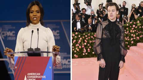 Candace Owens Harry Styles