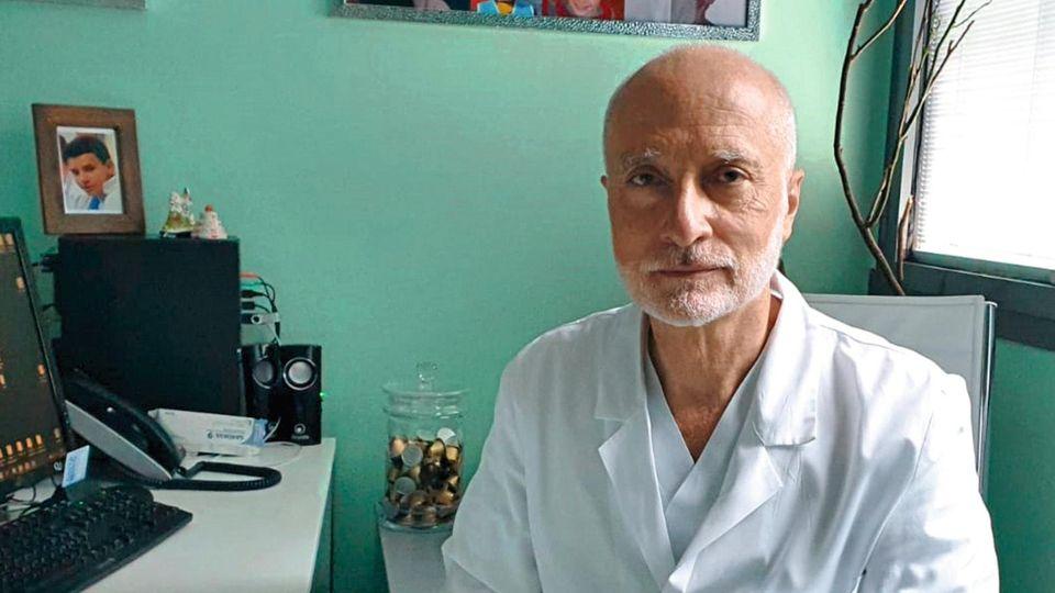 Marco Rizzi, 53, in seinem Büro im Krankenhaus in Bergamo