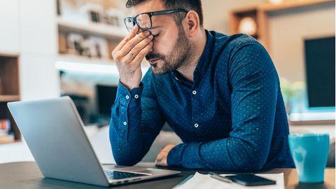 Job-Beratung: Ein Mann im Lockdown - wie Herr K. mit Homeoffice-Stress und Ehekrise kämpft