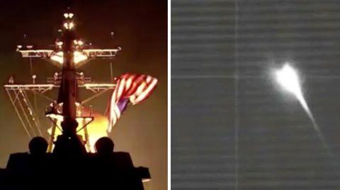 USA: Interkontinentalrakete abgefangen und zerstört