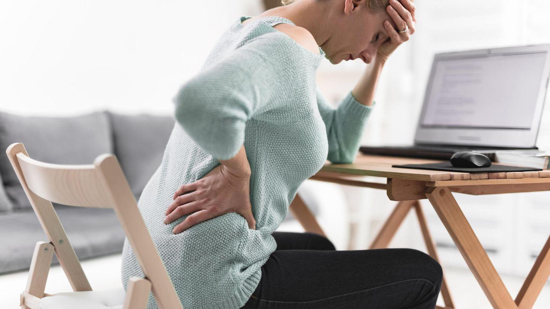 Ein Sitzring lindert Schmerzen