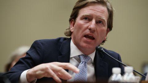 Christopher Krebs leitete die vonTrump ins Leben gerufene Behörde CISA