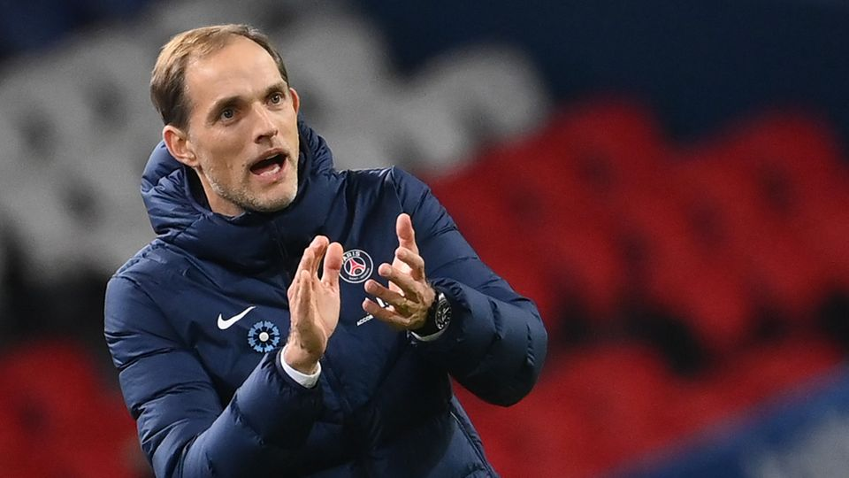 Thomas Tuchel, Trainer des französischen KlubsParis Saint-Germain
