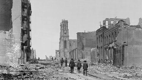 Als die Welt aus den Fugen geriet : Die unvermeidliche Katastrophe – eine Chronik des großen Erdbebens von San Francisco 1906