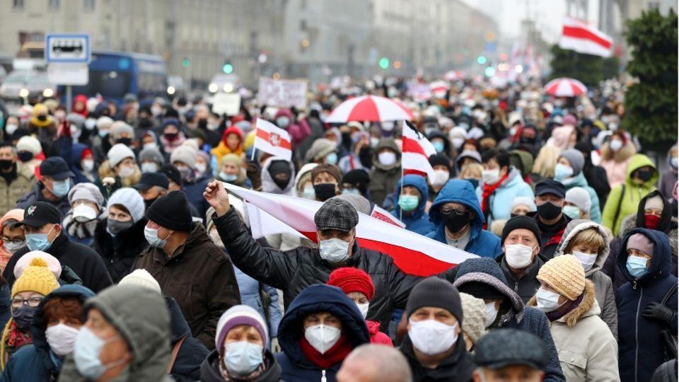 Die Proteste in Belarushalten – trotz des brutalen Vorgehens der Sicherheitskräfte.
