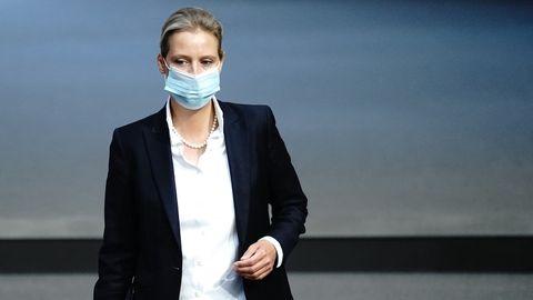 Alice Weidel, Co-Fraktionsvorsitzende der AfD.