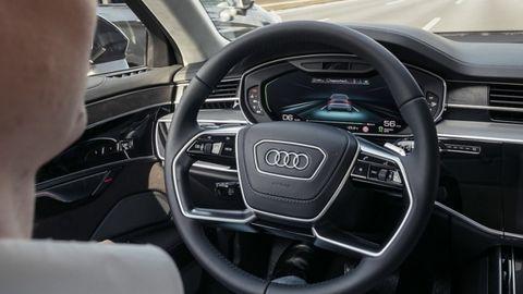 Audi demonstrierte beim A8 autonomes Fahren des Level 3, aber noch fehlen die gesetzlichen Grundlagen