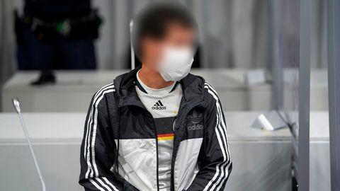 Limburg: Der Angeklagte im Gerichtssaal