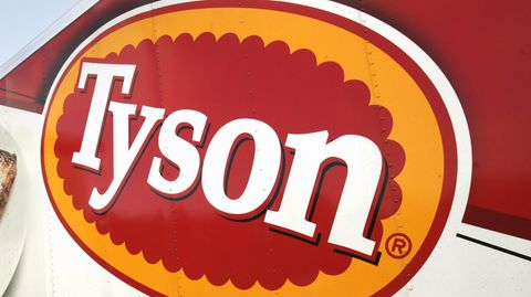 "Das ""Tyson Foods""-Logo"
