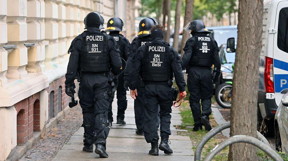 Leipziger Polizei bereitet sich auf Corona-Demo vor