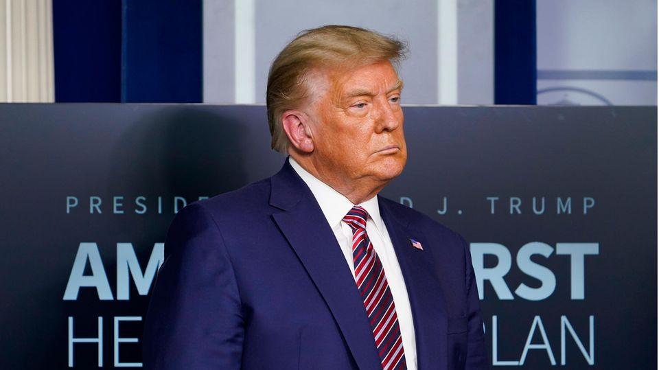 Noch-US-Präsident Donald Trump im Weißen Haus