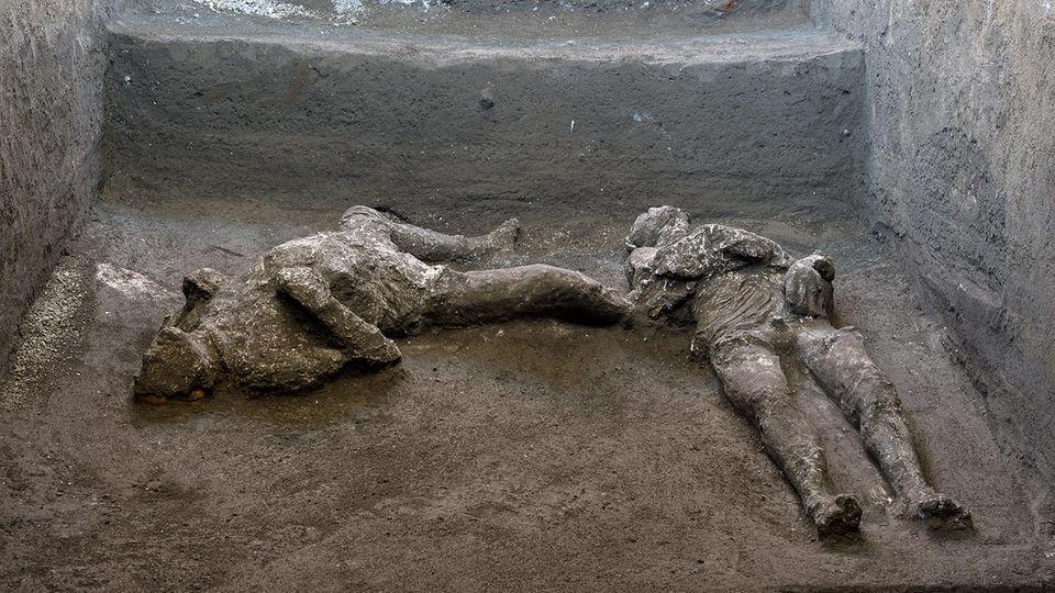 Pompeji: Archäologen finden rund 2000 Jahre alte Todesopfer von Vulkanausbruch