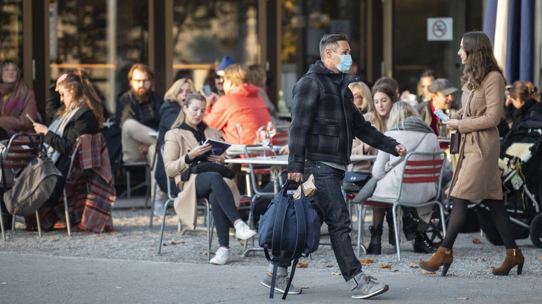 Ein Café in der Züricher Innenstadt