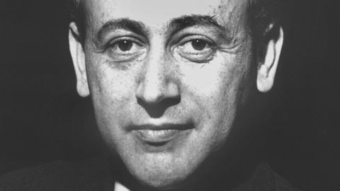 Porträt des Lyrikers Paul Celan