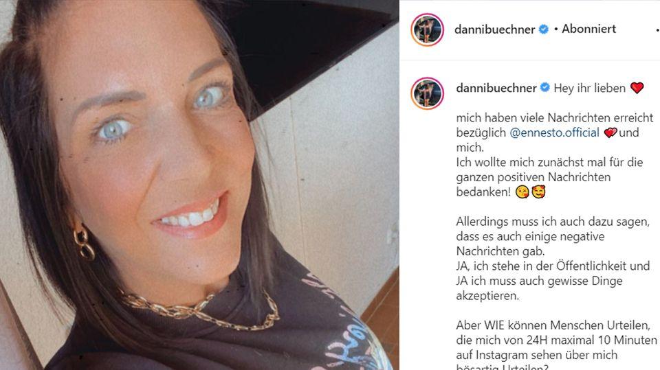 Daniela Büchner auf Instagram