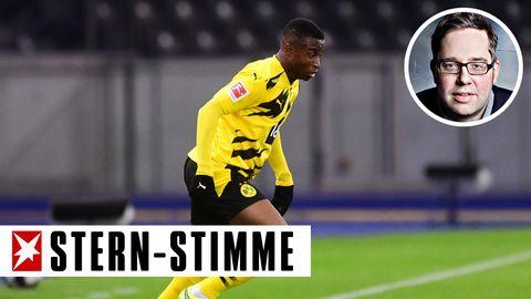 """Mit 16 Jahren wird er bereits als """"das größte Talent der Welt"""" bezeichnet: BVB-Spieler Youssoufa Moukoko."""