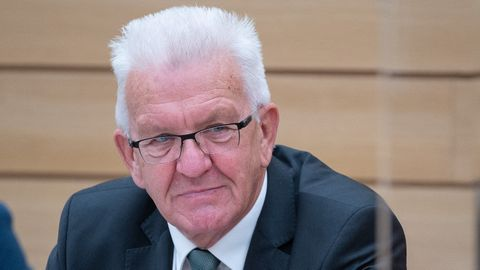 Baden-Württembergs Ministerpräsident Winfried Kretschmann.