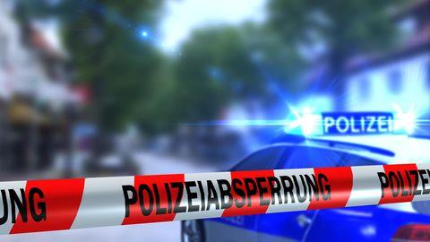 Polizeiabsperrband als Symbolfoto für Nachrichten aus Deutschland