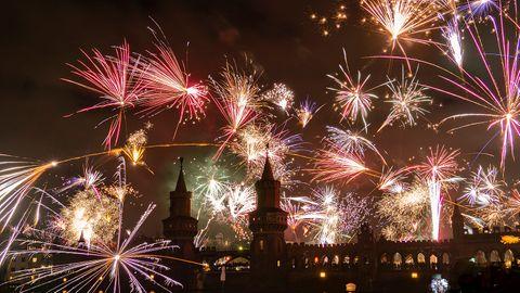 So ein Feuerwerkwie 2019 in Berlin dürfte es dieses Jahr nicht überall in der Hauptstadt geben.