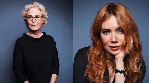 Christine Lambrecht und Palina Rojinski