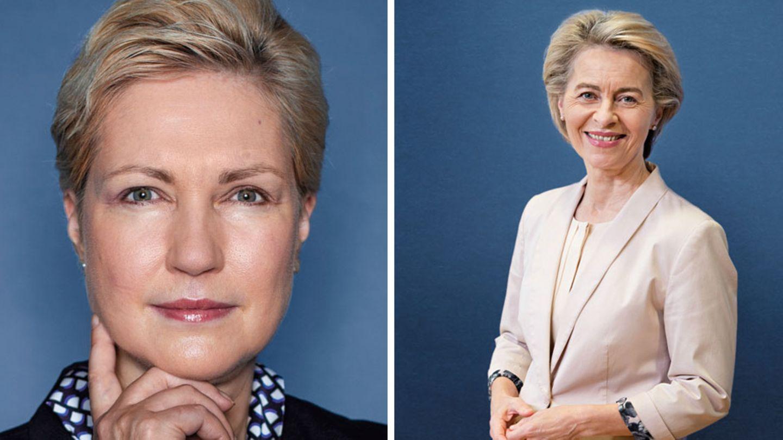 Manuela Schwesig und Ursula von der Leyen: Zwei Spitzenpolitikerinnen, die sich klar für die Quote aussprechen