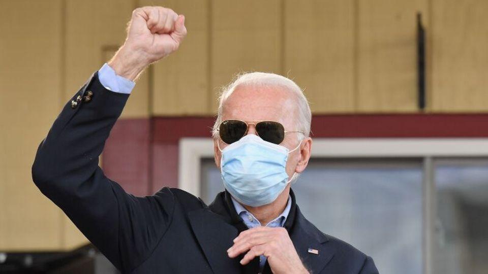Die 20 Wahlleute aus Pennsylvaniagehen nun offiziell an Joe Biden.
