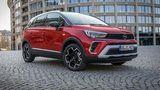 Der Opel Crossland wiegt 1.259 Kilogramm