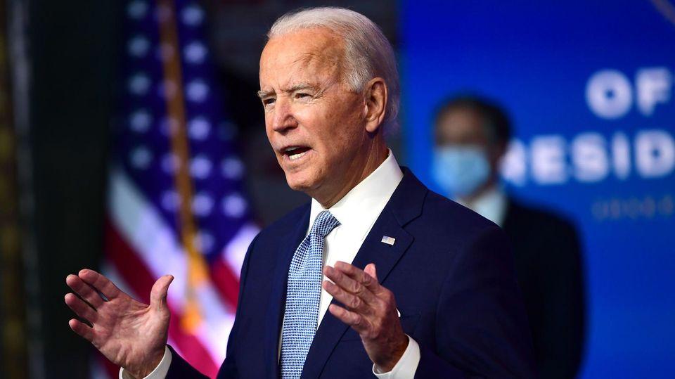 Joe Biden bei der Vorstellung seines außenpolitischen Kabinetts
