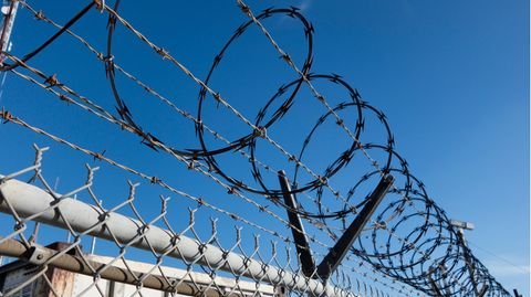 Ein Gefängnis in den USA