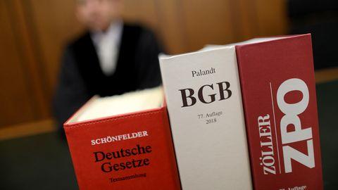 Ein Richter als Symbolfoto für Nachrichten aus Deutschland