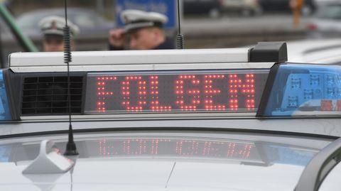 Polizeiauto als Symbolfoto für Nachrichten aus Deutschland