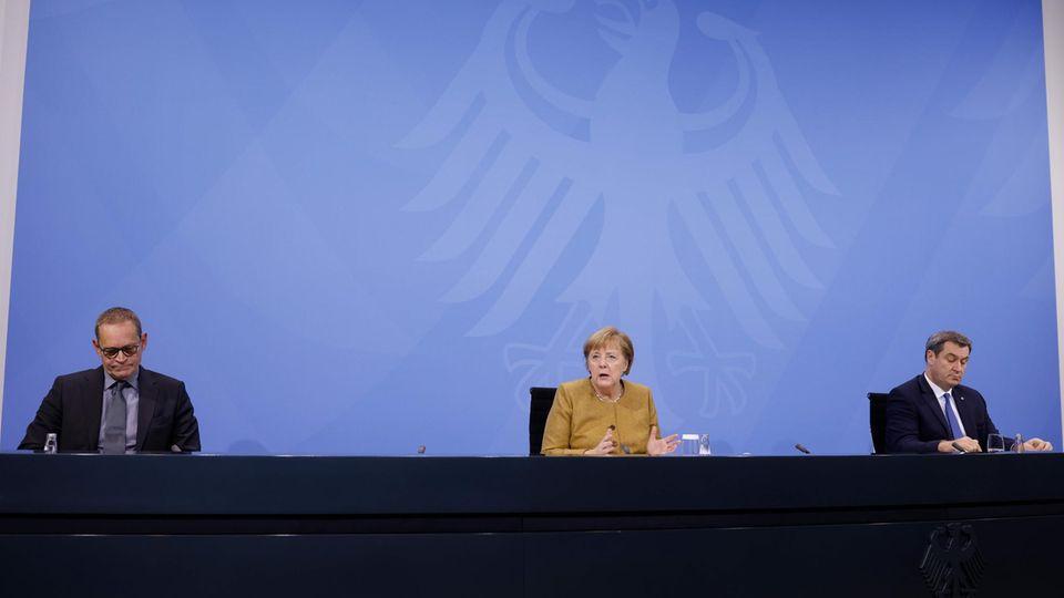 Kampf gegen die Pandemie: Jetzt live: Kanzlerin Merkel erklärt im Bundestag die neuen Corona-Maßnahmen