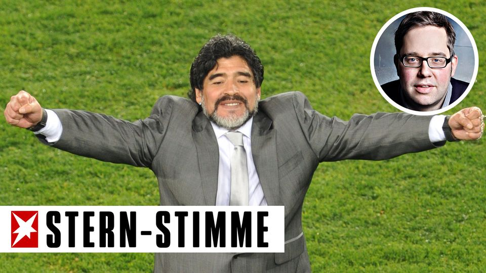 Philipp Köster über Diego Maradona