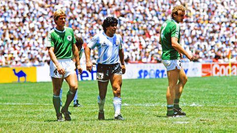 """WM Finale 1986: Maradonas Gegenspieler Karl-Heinz Förster: """"Der Größte von allen, das war er"""""""