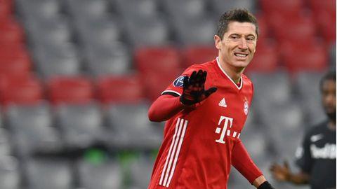 Im Spiel gegen RB Salzburg erzielte Robert Lewandowski sein 71. Tor in der Champions League