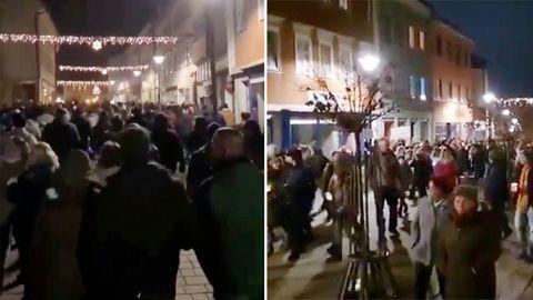 Proteste im Landkreis Hildburghausen
