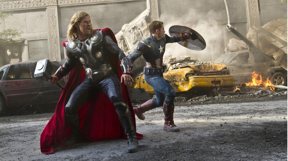 "Marvel's ""Avengers"": Thor und Captain America"