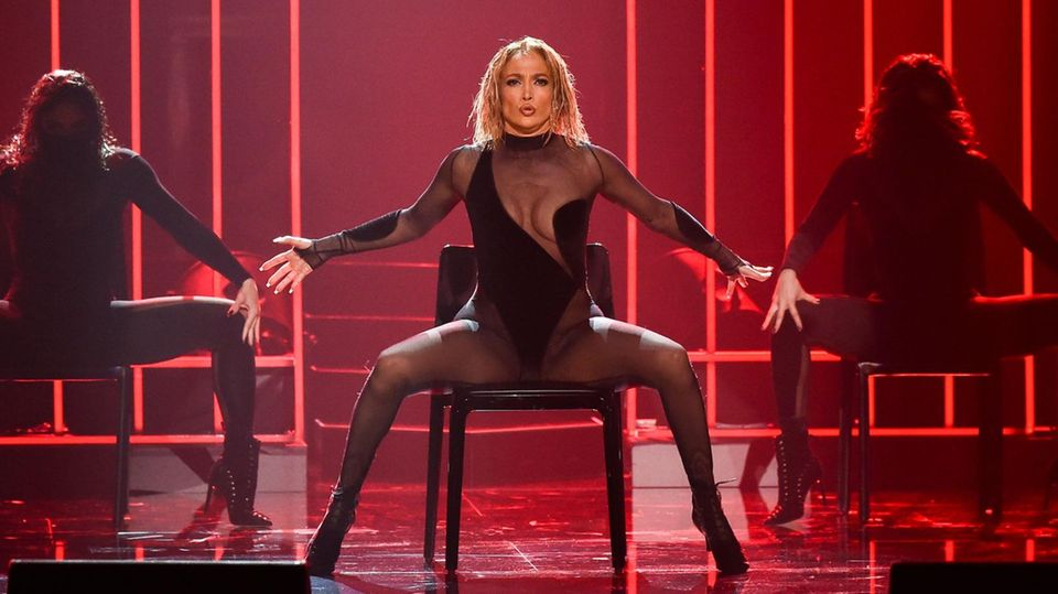 Jennifer Lopez bei den American Music Awards