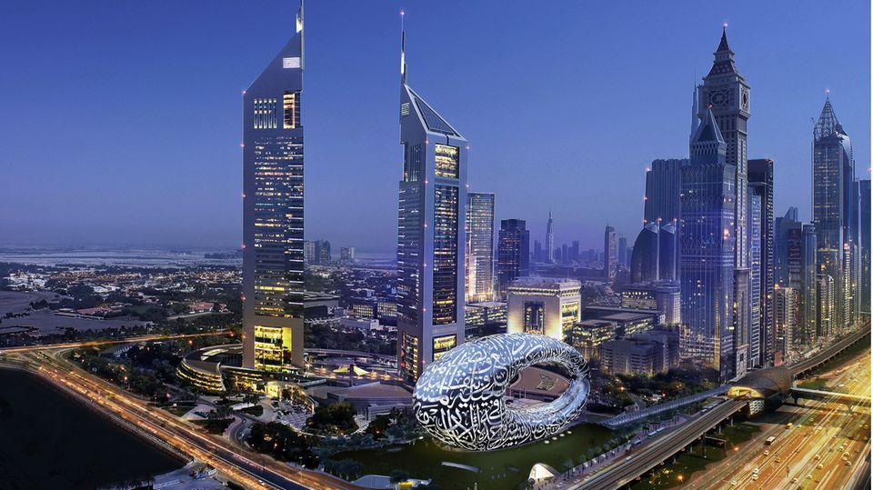 Museum of the Future in Dubai