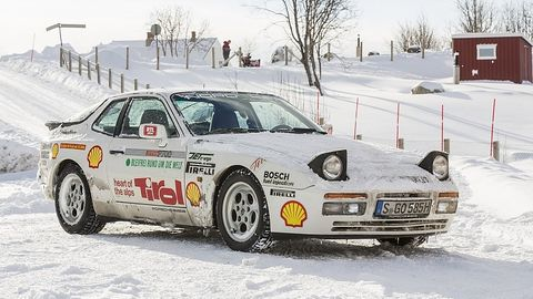 """Porsche 944 Turbo """"Weltenbummler"""""""