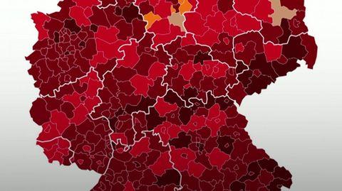 """Aktuelle Corona-News Immer mehr """"Super-Hotspots"""" in Deutschland – keine Intensivbetten mehr in Hildburghausen"""