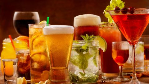 Getränke und Kalorien