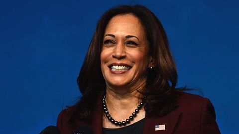Die künftige US-Vizepräsidentin Kamala Harris