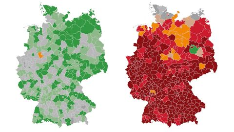 Die Ausbreitung des Coronavirus in Deutschland