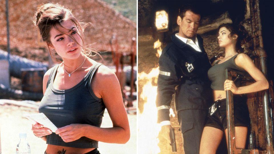 """Denise Richards im James-Bond-Film """"Die Welt ist nicht genug"""""""