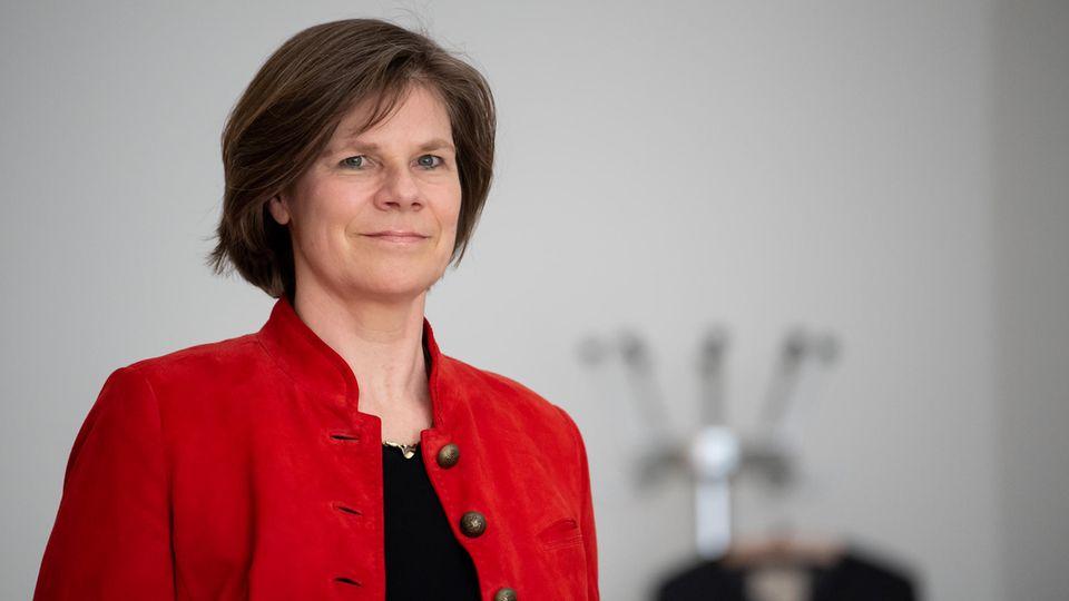 Ulrike Protzer, Direktorin des Instituts für Virologie an der TUM und am Helmholtz Zentrum München