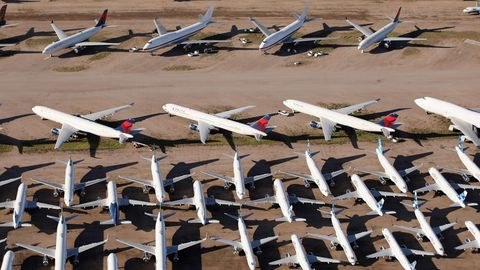 Pinal Airpark beiPhoenix, Arizona