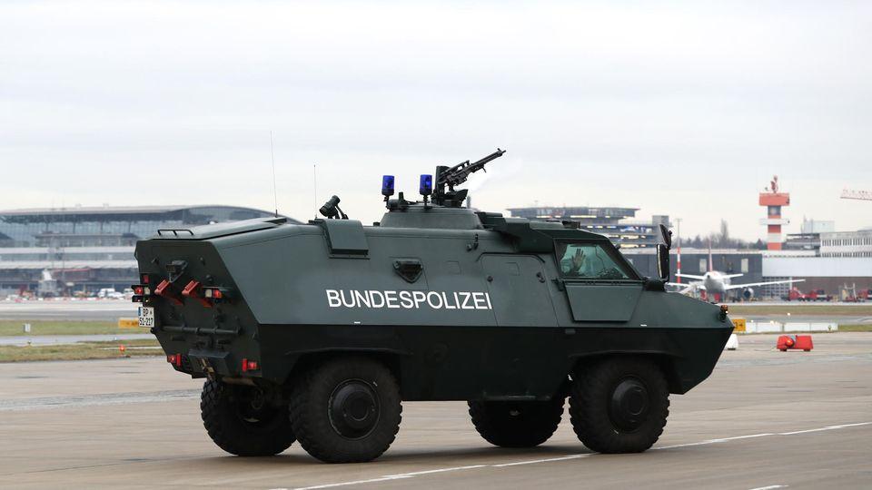 Bundespolizei-Fahrzeug